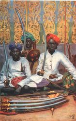 HYDERBAD, ARMS SELLERS
