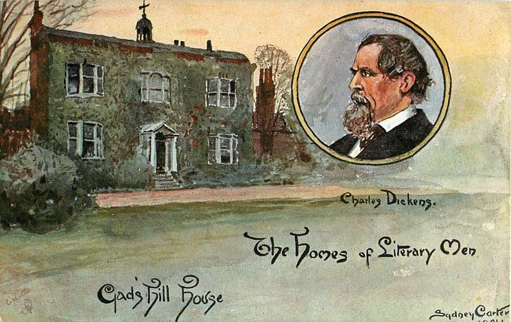 CHARLES DICKENS-GAD'S HIL HOUSE