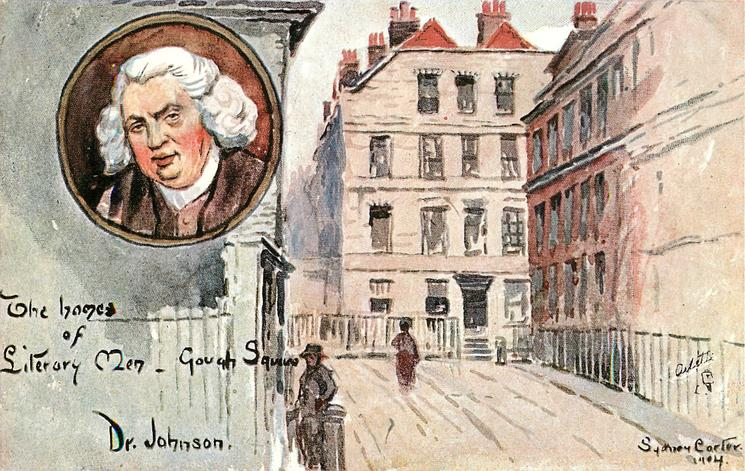 DR JOHNSON-GOUGH SQUARE