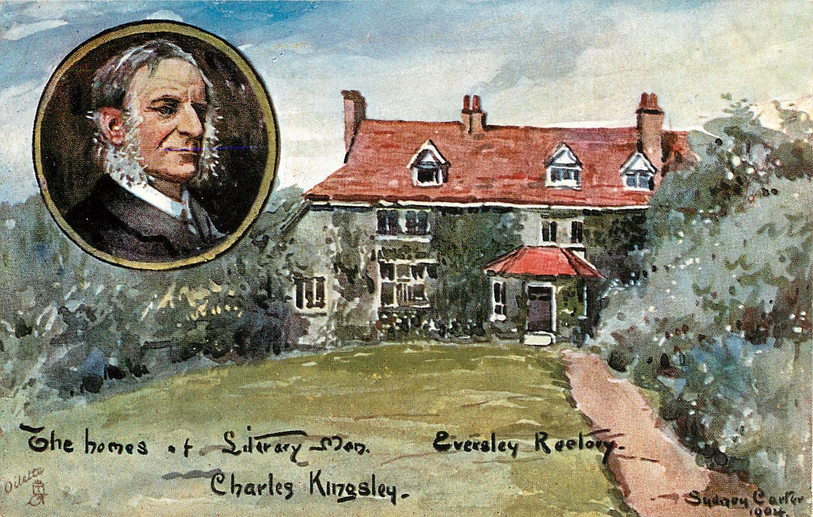 CHARLES KINGSLEY-EVERSLEY RECTORY