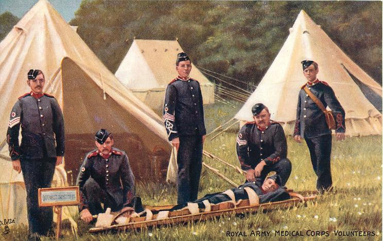ROYAL ARMY MEDICAL CORPS VOLUNTEERS