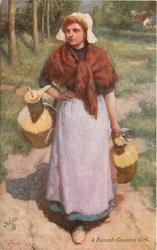 A FLEMISH COUNTRY GIRL