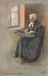 AN OLD LACE-MAKER