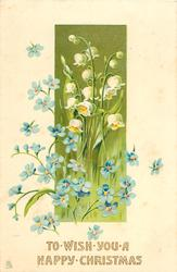 forget-me-nots & lilies-of the-valley