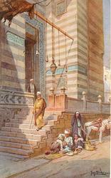 ENTRANCE TO THE MOSQUE OF EL-MUAIYAB