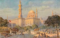THE MOSQUE OF SULTAN HASSAN