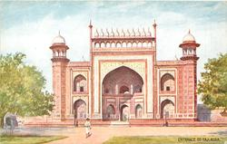 ENTRANCE TO TAJ