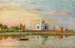 THE TAJ (FROM ACROSS THE RIVER)