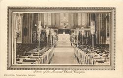 INTERIOR, OF THE MEMORIAL CHURCH