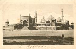 JAMA MASJID, DELHI, (EXTERIOR VIEW)