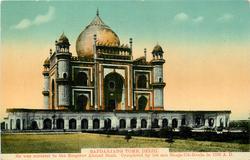 SAFDARJANG TOMB, DELHI