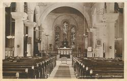 INTERIOR, TRINITY CHURCH