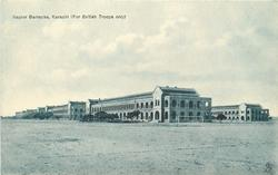 NAPIER BARRACKS, KARACHI (FOR BRITISH TROOPS ONLY)