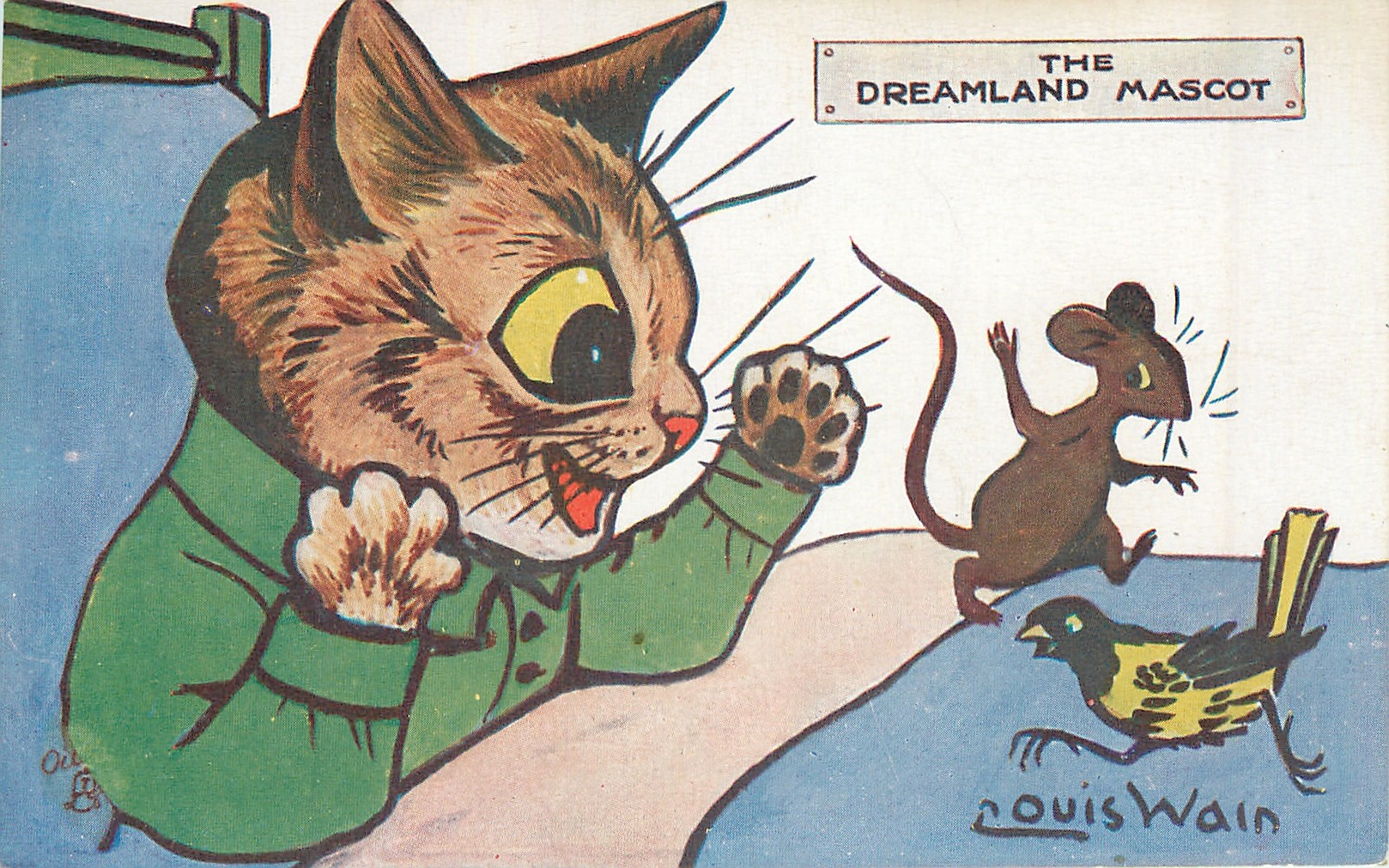THE DREAMLAND MASCOT
