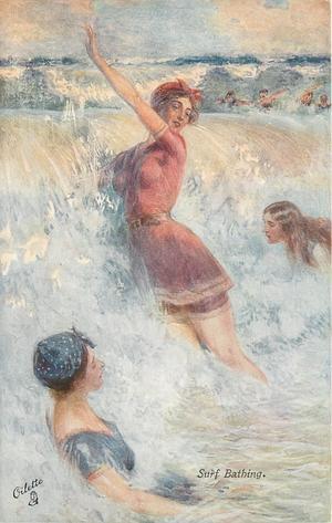 SURF BATHING