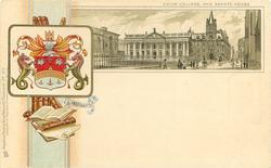 CAIUS COLLEGE AND SENATE HOUSE