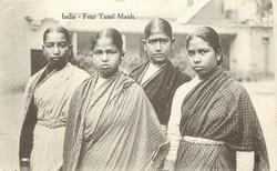FOUR TAMIL MAIDS