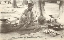 THE KALAI MAN TINNING COPPER VESSELS