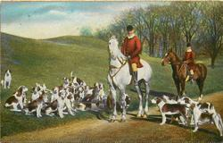 """NONE BETTER SKILLED THE NOISY PACK TO GUIDE.""  fox-hunting"