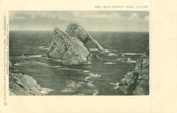 """BANFFSHIRE   THE """"BOW FIDDLE"""" ROCK, CULLEN"""