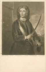 VICE ADMIRAL, JOHN BENBOW, BORN 1650, DIED 1702