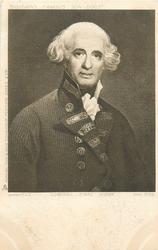 ADMIRAL EARLE HOWE, BORN 1725, DIED 1799