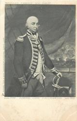 ADMIRAL LORD COLLINGWOOD, BORN 1748, DIED 1810