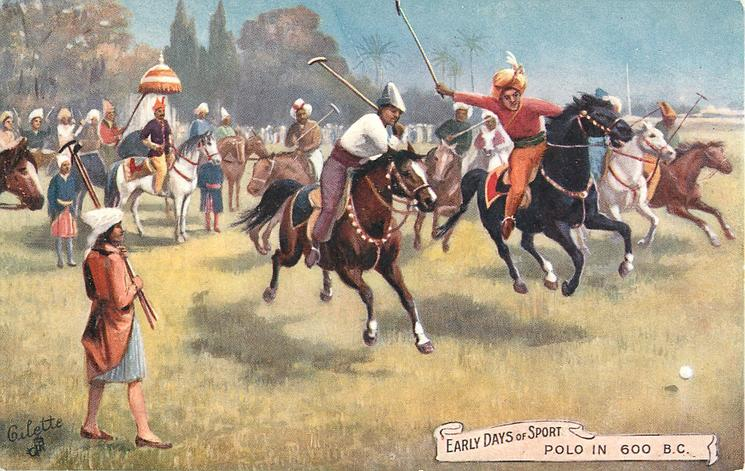POLO IN 600 B.C.