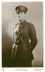 "IAN HUNTER IN ""ORDERS IS ORDERS""  in soldier uniform"