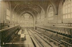 INTERIOR OF MITCHELL HALL