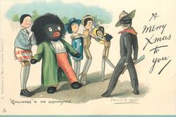 "A MERRY XMAS TO YOU, ""GOLLIWOGG"" & THE HIGHWAYMAN"