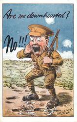 soldier facing left