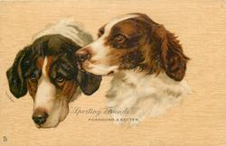 """SPORTING FRIENDS."", FOXHOUND & SETTER"