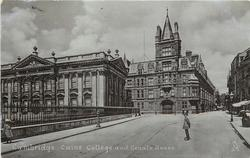 CAIUS COLLEGE AND SENATE HOUSE
