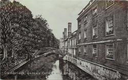 QUEEN'S COLLEGE AND BRIDGE