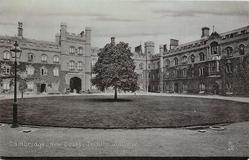 NEW COURT, TRINITY COLLEGE