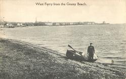 WEST FERRY FROM THE GRASSY BEACH