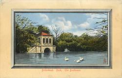 PARK. THE BOATHOUSE