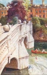 CLARE COLLEGE AND BRIDGE