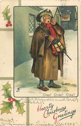 HEARTY CHRISTMAS GREETINGS, OYEZ! OYEZ! OYEZ!