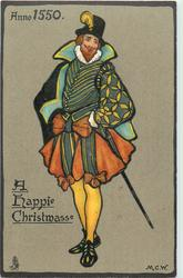 ANNO 1550, A HAPPIE CHRISTMASSE