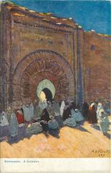 MARRAKESH. A GATEWAY