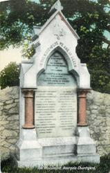 THE MONUMENT, ABERGELE CHURCHYARD