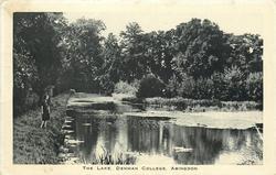 THE LAKE, DENMAN COLLEGE