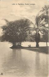 LAKE IN GARDENS