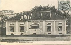 SEREMBAN. POST & TELEGRAPH OFFICE
