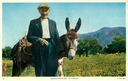 COUNTRYSIDE donkey & owner