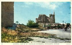 GENERAL VIEW OF ST. NICHOLAS CATHEDRAL, FAMAGUSTA