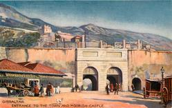 ENTRANCE TO THE TOWN AND MOORISH CASTLE