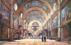 INTERIOR OF ST JOHNS CHURCH